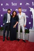 LAS VEGAS - MAR 7:  Lady Antebellum arrives at the 2013 Academy of Country Music Awards at the MGM G