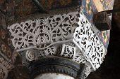 Interior of the Hagia Sophia in Istanbul. Turkey