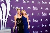 LAS VEGAS - MAR 7:  Kaley Cuoco, Ashley Jones arrives at the 2013 Academy of Country Music Awards at the MGM Grand Garden Arena on March 7, 2013 in Las Vegas, NV