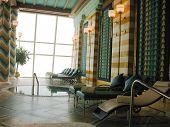 Assawan Spa e Health Club no hotel Burj Al Arab em Dubai.