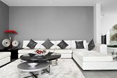 stock photo of lounge room  - Interior Design - JPG