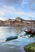bishops palace and Rabelo boats,  Porto