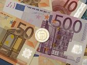 Euro Notes And Coins
