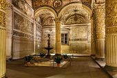 Rich Interior Of Palazzo Vecchio (old Palace) A Massive Romanesque Fortress Palace, Florence, Italy