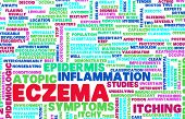 Eczema Skin Condition Treatment as a Concept