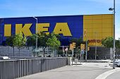 HOSPITALET DE LLOBREGAT, SPAIN - NOVEMBER 2: Ikea store on November 2, 2013 in Hospitalet de Llobreg