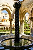 Cloister of the Cathedral of Monreale