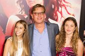 LOS ANGELES, CA - NOVEMBER 18: Writer Aaron Sorkin arrives at the premiere of The Hunger Games: Catc