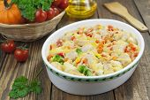 Casserole With Meat And Vegetables