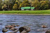 River Spey Fishing Hut