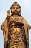 Statue Of Godness Guanyin In The Putuoshan Island