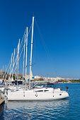 Mao Port of Mahon in Menorca at Balearic islands Spain