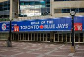 Sign for Toronto Blue Jays