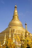 Shwedagon Pagoda in Rangoon, Myanmar