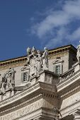 stock photo of apostolic  - Structure  in Apostolic Palace in Vatican Rome - JPG