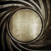 pic of iron star  - iron pattern background - JPG