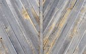 picture of wainscoting  - gray wooden texture great as a background - JPG