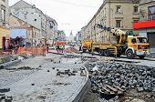 Repair Street Gorodockaya In Lvov