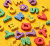 pic of kiddie  - Kiddies style Colored Alphabet and number blocks - JPG