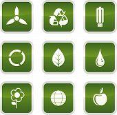 Постер, плакат: Значки окружающей среды