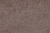 Silvery Texture Of Leather Fabric Closeup