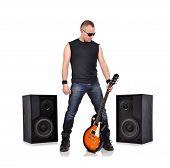 Rocker With Guitar