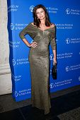 NEW YORK-NOV 21; Model Paulina Porizkova attends the American Museum of Natural History's 2013 Museu