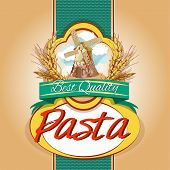 Pasta pack label