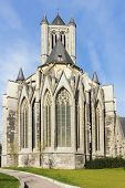 St. Nicolas (niklaas) Church In Ghent.