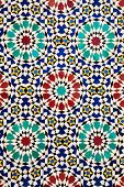Colorful arabic mosaics