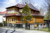 Wooden Villa Built In 1908 In Zakopane