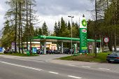 Bp Gas Station In Zakopane