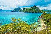 Sea Bay And Green Islands