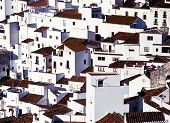 White village, Casares, Spain.