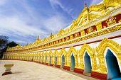 U Min Thonze Pagoda,sagaing, Myanmar