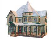 Victorian Winter House