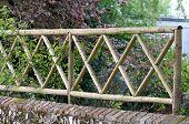 Garden trellis fence