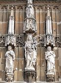 Beautiful Statues At Aachen, Germany