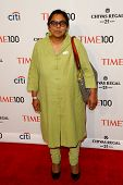 NEW YORK-APR 29: Sex trafficking abolitionist Ruchira Gupta attend the Time 100 Gala for the Most In