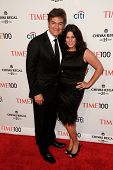 NEW YORK-APR 29: Dr. Mehmet Oz (L) and wife Lisa Oz attend the Time 100 Gala for the Most Influentia