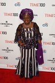 NEW YORK-APR 29: Economist Ngozi Okonjo-Iweala attends the Time 100 Gala for the  Most Influential P