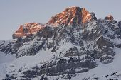 Sunrise in Telera Peak, Partacua Mountains, Tena Valley, Pyrenees, Huesca, Aragon, Spain