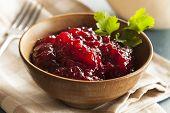 Organic Lingonberry Preserve Sauce
