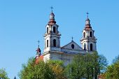 Church Of St. Raphael The Archangel In Vilnius
