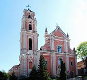 All Saints Church In Vilnius City. Lithuania.