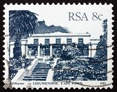 Postage Stamp South Africa 1983 Leeuwenhof, Cape Town