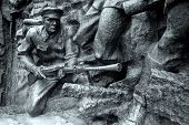 Stone soldier, Great Patriotic War