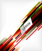 Straight lines abstract vector background. For brochure, presentation, web background, print production