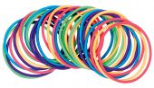 Multicolored Plastic Bracelets