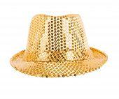 Festively Gold Hat